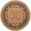 <strong>Savonnerie Beige/Black Rug</strong> by Safavieh