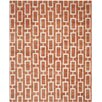 Safavieh Stone Wash Rust Rug