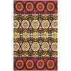 <strong>Cedar Brook Red / Orange Contemporary Rug</strong> by Safavieh