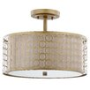 Safavieh Giotta 1 Light Semi Flush Mount