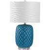 "Safavieh Chaney 25.25"" H Table Lamp with Drum Shade"