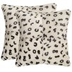 Safavieh Beaucowhide Throw Pillow (Set of 2)