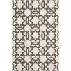 Safavieh Dhurries Ivory / Grey Rug