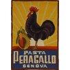 Safavieh Chelsea Vintage Poster Art Novelty Area Rug