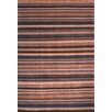 Safavieh Tibetan Black/Blue Stripes Area Rug