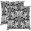 Safavieh Damia Cotton Decorative Pillow (Set of 2)