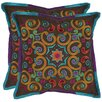 <strong>Safavieh</strong> Finn Polyester Decorative Pillow (Set of 2)