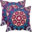 Safavieh Vanessa Linen / Cotton Decorative Pillow (Set of 2)