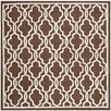 <strong>Safavieh</strong> Cambridge Dark Brown / Ivory Rug