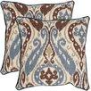 Safavieh Charlie Cotton / Linen Decorative Pillow (Set of 2)