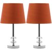 "Ashford Orb 16"" H Table Lamp with Empire Shade (Set of 2)"