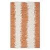 Safavieh Montauk Orange Abstract Area Rug