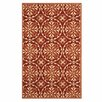 Safavieh Four Seasons Red / Orange Outdoor Rug