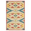 Safavieh Four Seasons Yellow/Blue Outdoor Area Rug