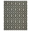Safavieh Dhurries Black / Ivory Area Rug