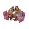 Fun Furnishings Modern Kids Chair and Sofa Set