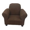 Fun Furnishings Fun Furnishings Brown Micro Suede Toddler Chair