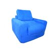 <strong>Micro Suede Kid's Chair Sleeper</strong> by Fun Furnishings