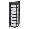 Besa Lighting Scala 2 Light Outdoor Wall Sconce