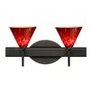 Besa Lighting Kani 2 Light Vanity Light