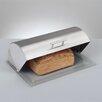 <strong>Brotkasten aus Edelstahl mit Glasboden</strong> von Zeller Present