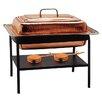 Old Dutch International Rectangular Decor Copper Chafing Dish