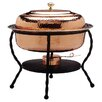 <strong>Oval Decor Copper Chafing Dish</strong> by Old Dutch International