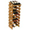<strong>Wooden Mallet</strong> Dakota 24 Bottle Wine Rack