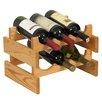 Wooden Mallet Dakota 6 Bottle Wine Rack