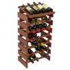 <strong>Wooden Mallet</strong> Dakota 28 Bottle Wine Rack