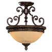 <strong>Wildon Home ®</strong> Knight 2 Light Semi Flush Mount
