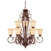 <strong>Wildon Home ®</strong> Campbell 9 Light Chandelier