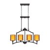 <strong>Wildon Home ®</strong> Echo 4 Light Chandelier