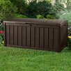 <strong>101 Gallon Plastic Glenwood Deck Box</strong> by Keter