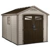 "Keter Orion 8'5"" W x 9'5"" D Resin Storage Shed"