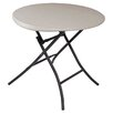 "<strong>33"" Round Folding Table</strong> by Lifetime"