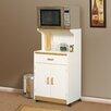 Sauder O'Sullivan Universal Microwave Cart