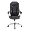 Sauder Gruga Solace Pennant High-Back Leather Executive Office Chair
