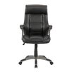Sauder Gruga Manager's Mid-Back Leather Executive Office Chair