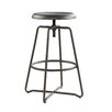 Sauder Cannery Bridge Adjustable Height Swivel Bar Stool