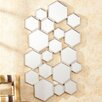 Wildon Home ® Nalice Honeycomb Wall Mirror