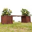Wildon Home ® Griffin Planter Holder Bench