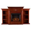 Wildon Home ® Conway Electric Fireplace with Bookcases