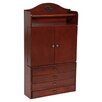 Wildon Home ® Kent Wall Mounted Jewelry Armoire with Mirror