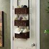 Wildon Home ® Lynbar Over the Door 3-Tier Basket Storage