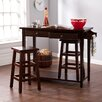 Wildon Home ® Nutley 3 Piece Dining Table Set