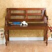 Wildon Home ® Penumbra Classic Wood Bench in Mahogany
