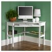 Wildon Home ® Liverpool Computer Corner Desk in White