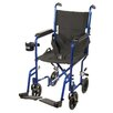 <strong>Drive Medical</strong> Aluminum Lightweight Transport Wheelchair