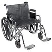 Drive Medical Sentra EC Heavy Duty Dual Axle Bariatric Wheelchair